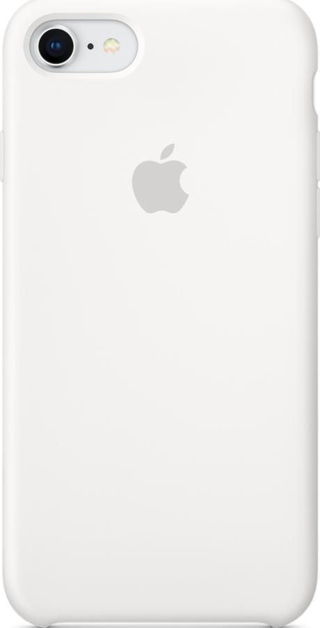 Клип-кейс Apple iPhone 8/7 силиконовый White математическая формула pattern мягкая обложка тонкий тпу резиновый силиконовый гель чехол для lenovo a580