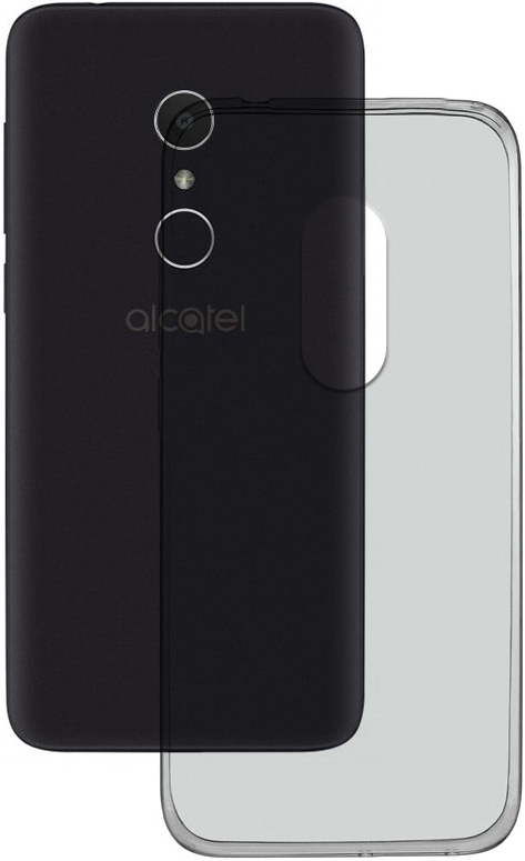 Клип-кейс MediaGadget Alcatel 1X прозрачный