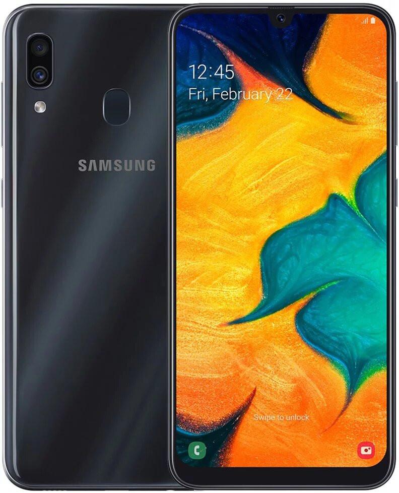 Смартфон Samsung A305 Galaxy A30 4/64Gb Black