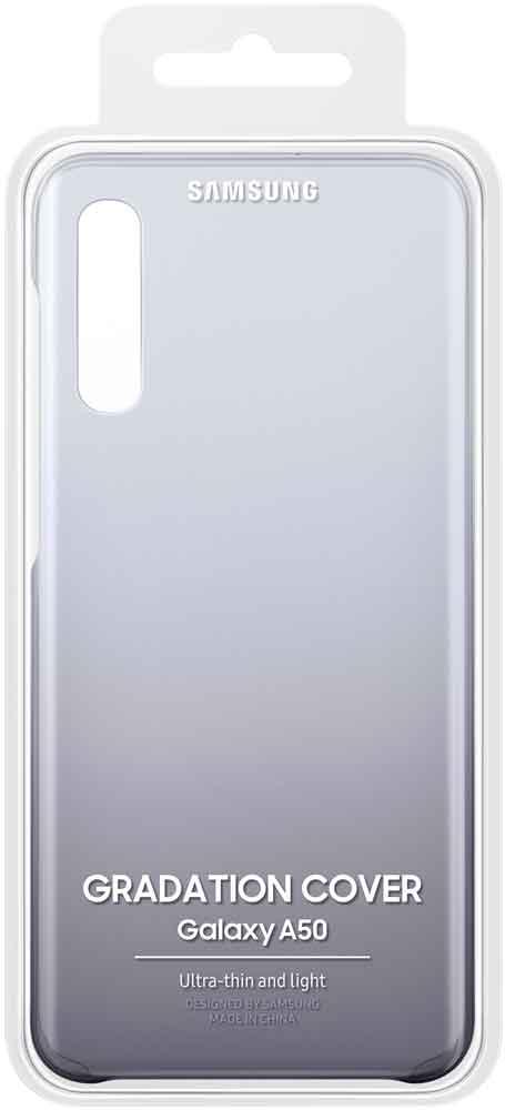 Клип-кейс Samsung Galaxy A50 EF-AA505C градиент Black фото