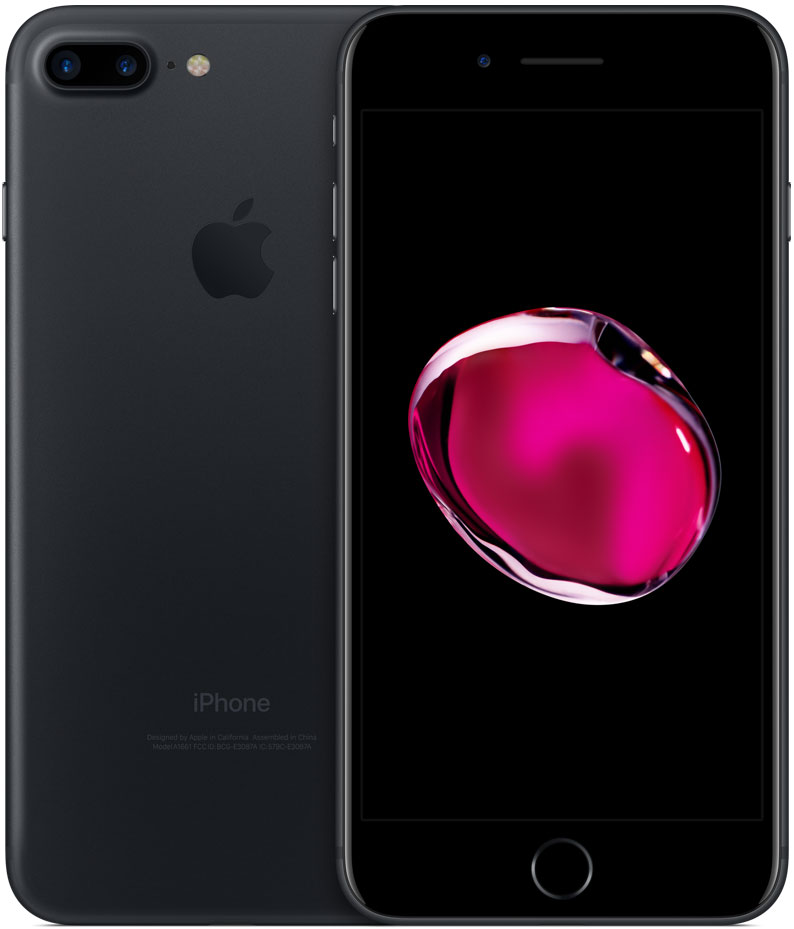 Смартфон Apple iPhone 7 Plus 128GB Black (MN4M2RU/A) фото