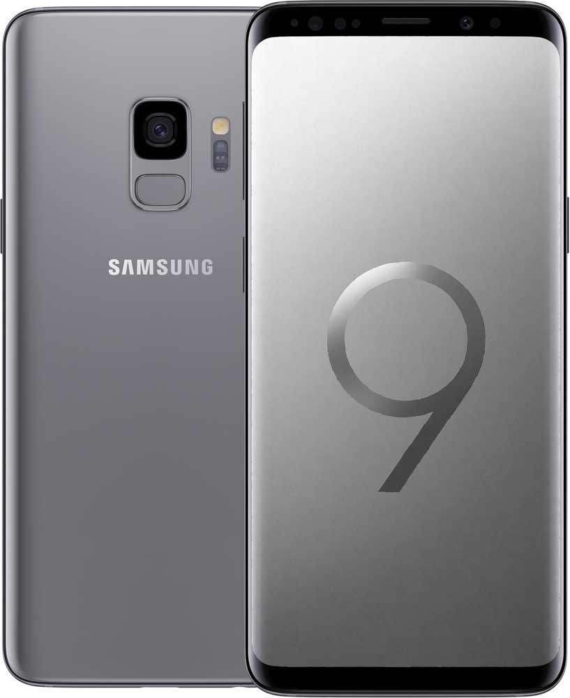 Смартфон Samsung G960 Galaxy S9 64Gb Титан