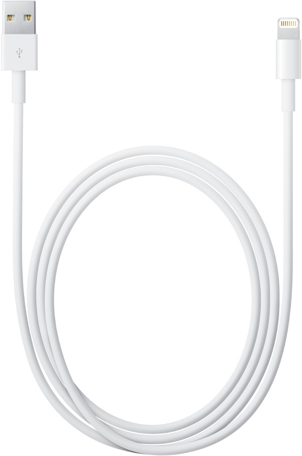 Дата-кабель Apple Lightning to USB Cable 2 m White кабель iqfuture для iphone ipad ipod apple lightning port usb 2 0 iq ac01 p розовый