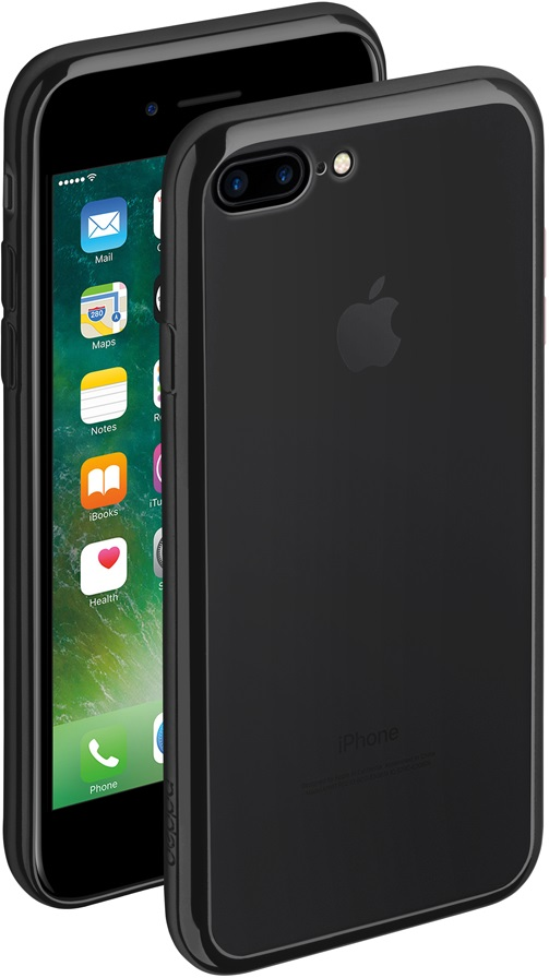 Клип-кейс Deppa Gel Plus iPhone 8 Plus black цена