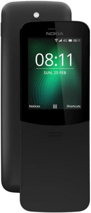 Мобильный телефон Nokia 8110 Dual sim Black цена в Москве и Питере