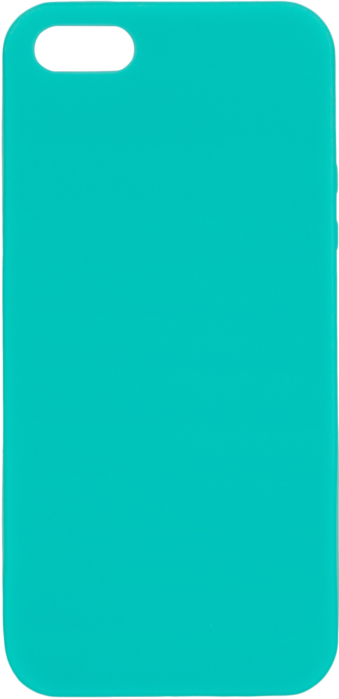 Клип-кейс Deppa Apple iPhone 5/SE TPU Turquoise клип кейс gresso apple iphone 5 se tpu black