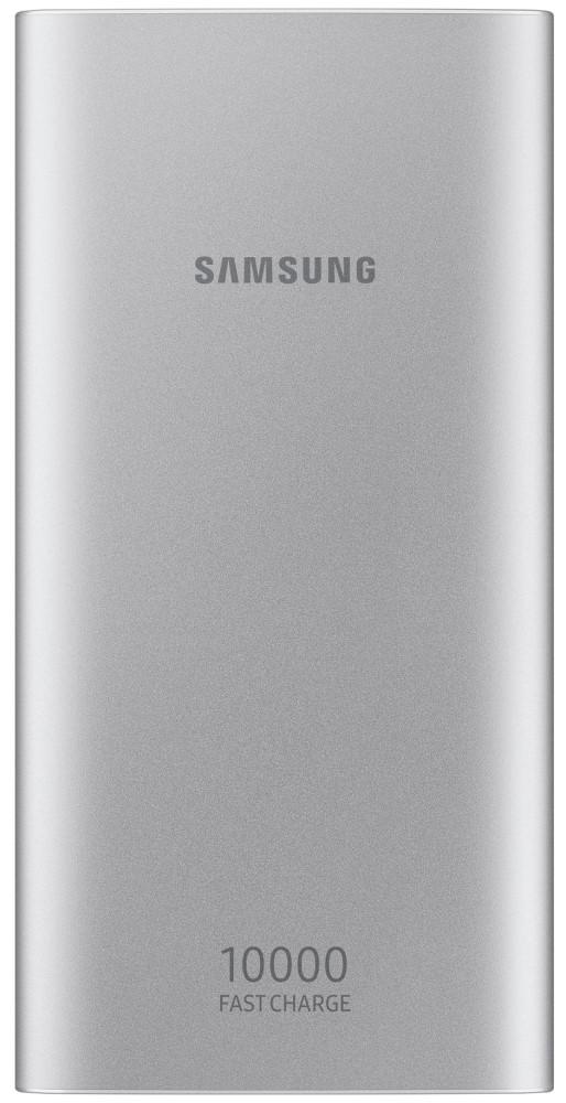 Внешний аккумулятор Samsung EB-P1100BSRGRU 10000 mAh micro USB silver аккумулятор samsung microusb 11300 mah white sam eb pn915bwrgru