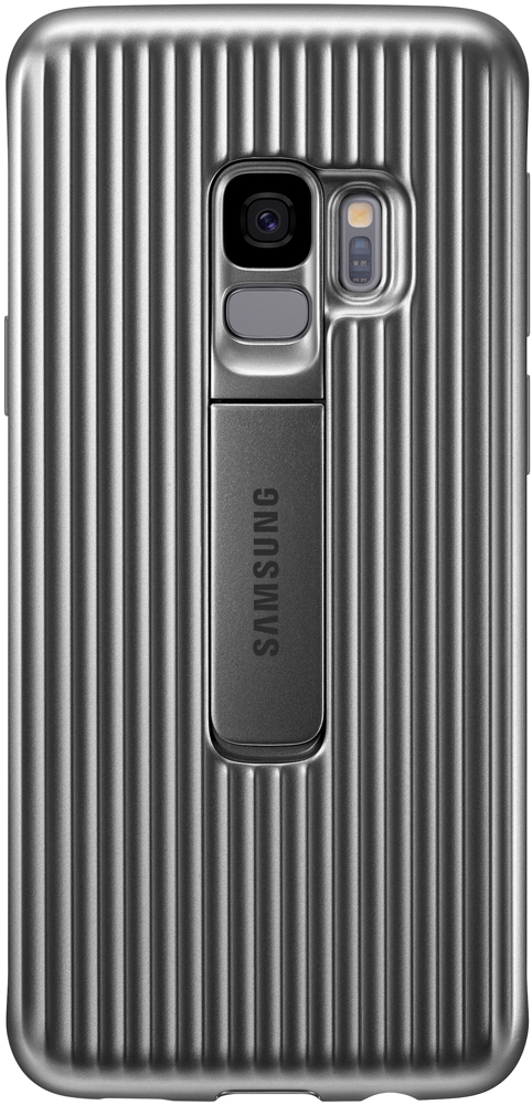 Клип-кейс Samsung Galaxy S9 Protective Standing Cover Silver