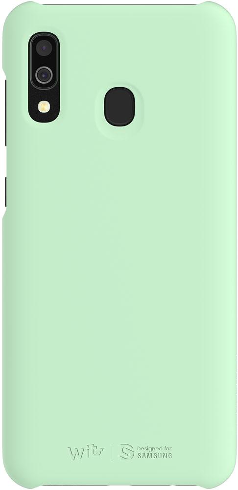 Клип-кейс WITS Samsung Galaxy A30 GP-FPA305W Mint фото