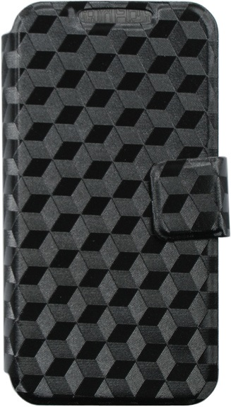 """Чехол-книжка OxyFashion SlideUP Cube универсальный размер M 4,3-5,5"""" Black"""