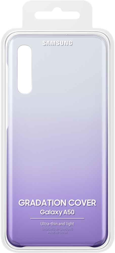 Клип-кейс Samsung Galaxy A50 EF-AA505C градиент Purple фото