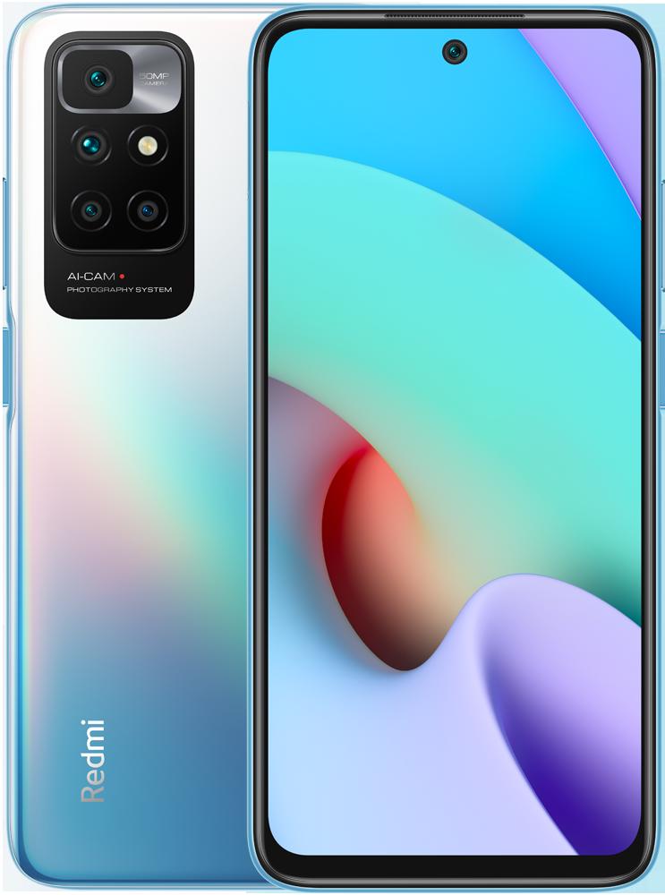 Смартфон Xiaomi Redmi 10 4/128Gb Blue