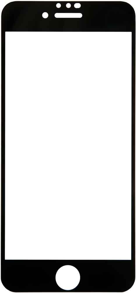Стекло защитное RedLine Corning для iPhone 8/7 0.2 мм черная рамка red linecorning защитное стекло дляiphonex black