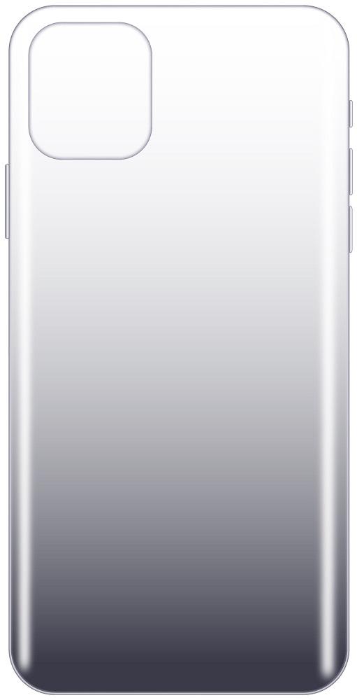Клип-кейс LuxCase iPhone 11 прозрачный градиент Black фото