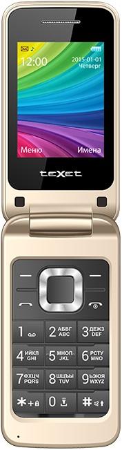 Мобильный телефон teXet TM-204 Dual sim Beige texet tm 8069