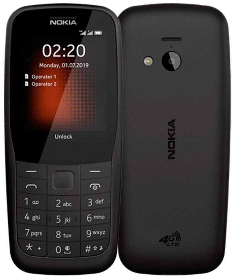 Мобильный телефон Nokia 220 2019 LTE Dual sim Black фото
