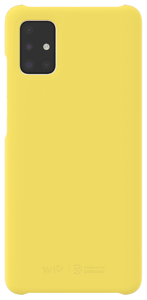 Клип-кейс WITS Samsung Galaxy A51 Yellow (GP-FPA515WSAYR) фото