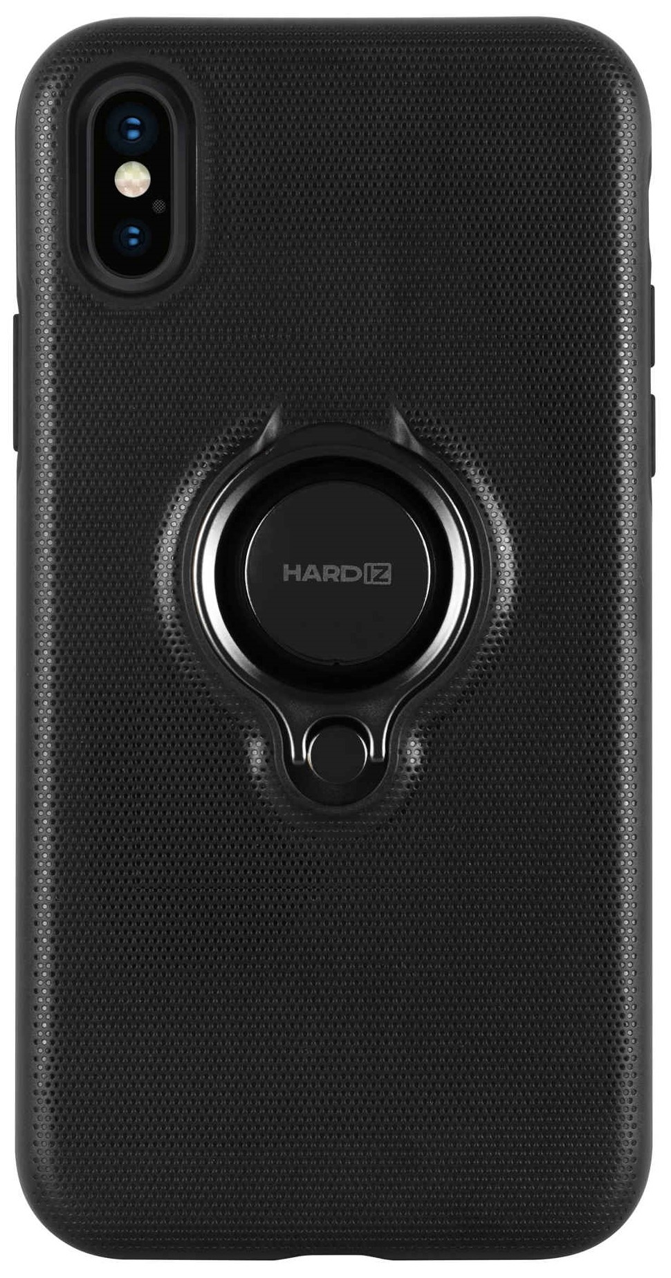 Клип-кейс Hardiz для Apple iPhone XS Urban с кольцом Black