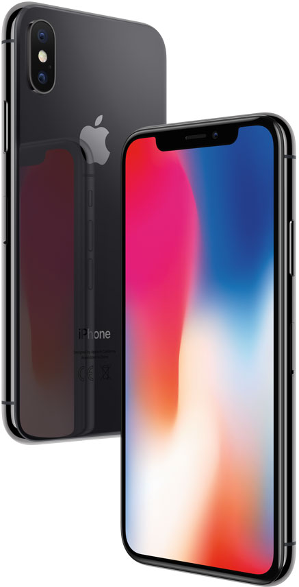 Смартфон Apple, iPhone X 256GB Space Gray (Серый Космос)