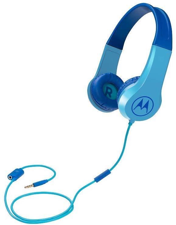 Наушники с микрофоном Motorola SQUADS 200 накладные Blue фото