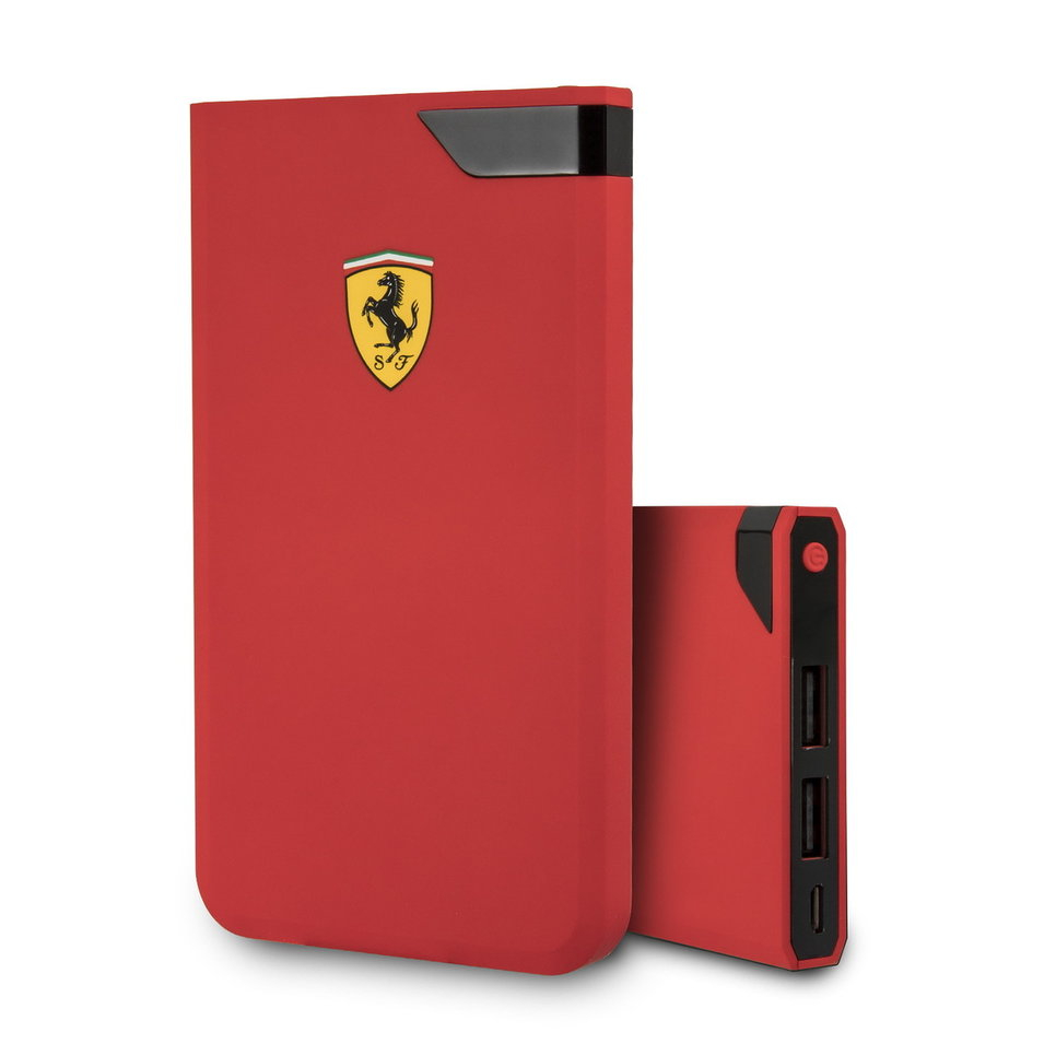 Внешний аккумулятор Ferrari 10000 mAh red фото