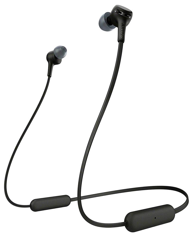 Беспроводные наушники с микрофоном Sony WIXB400 Black фото