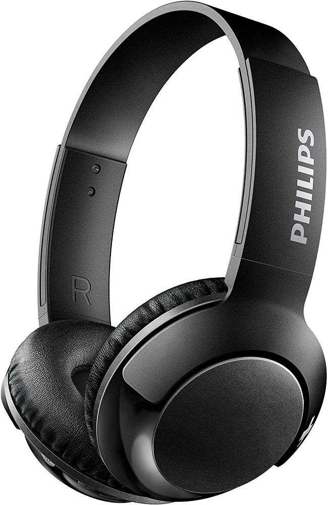 Беспроводные наушники с микрофоном Philips SHB3075 Black стоимость