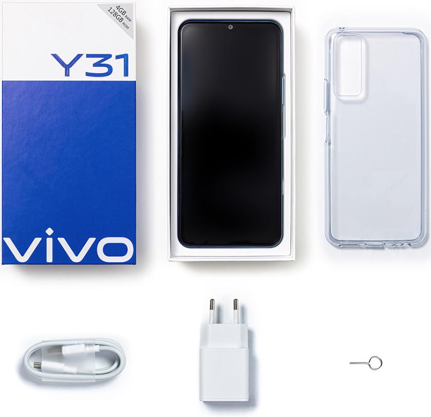 Смартфон Vivo Y31 4/64Gb Blue фото 7
