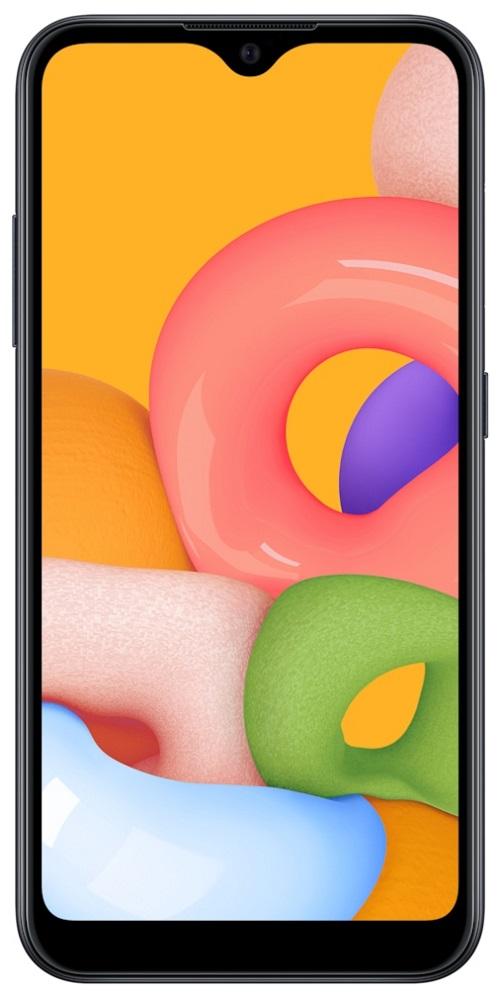 Смартфон Samsung A015 Galaxy A01 2/16Gb Black фото