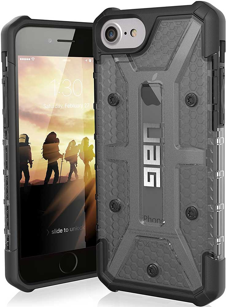 Клип-кейс UAG Plasma iPhone 8/7/6 прозрачный