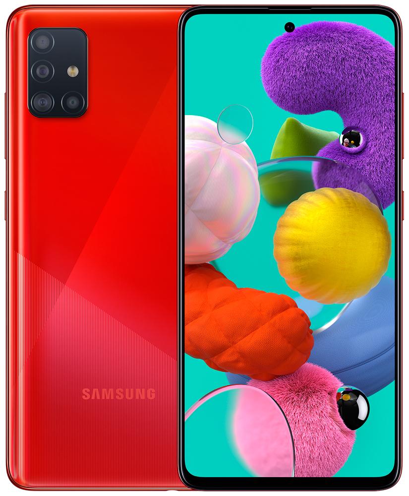 Смартфон Samsung A515 Galaxy A51 6/128Gb Red