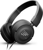 Наушники с микрофоном JBL T450 накладные Black цена 2017