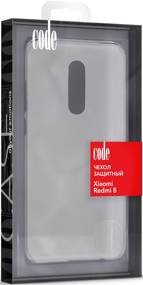 Клип-кейс Code Xiaomi Redmi 8 прозрачный все цены