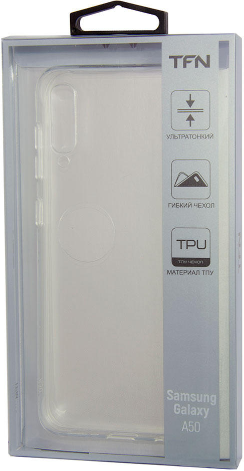Клип-кейс TFN Samsung Galaxy A50 прозрачный фото