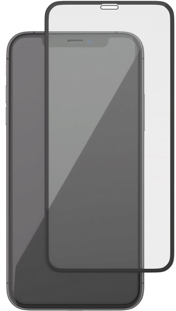 Стекло защитное uBear iPhone XR 0.2 мм черная рамка фото