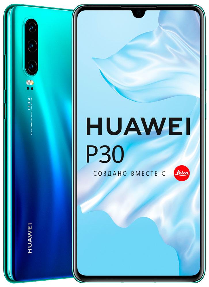 Смартфон Huawei P30 6/128Gb Aurora фото