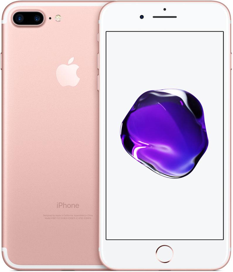 Смартфон Apple iPhone 7 Plus 32GB Rose Gold (MNQQ2RU/A) фото