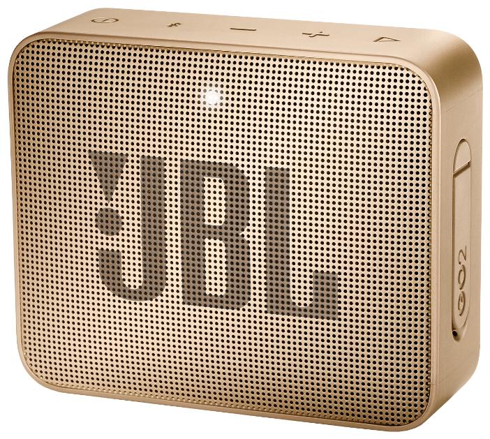 Портативная акустическая система JBL GO 2 шампань фото