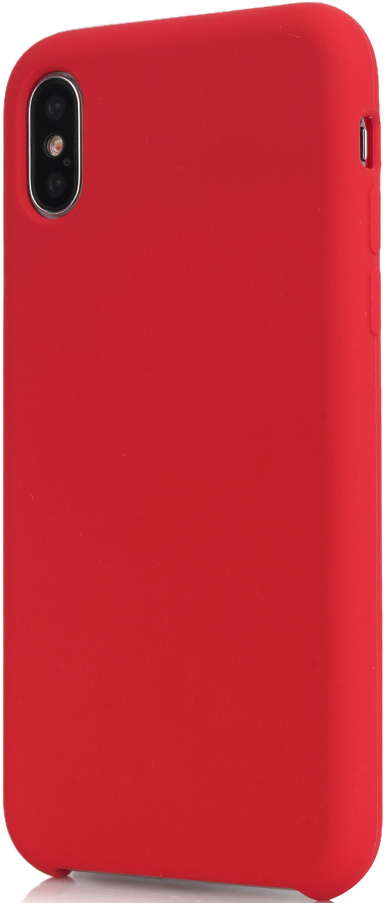 Клип-кейс Vili Silicone case iPhone X Red аксессуар чехол для apple iphone x innovation silicone case red 10302