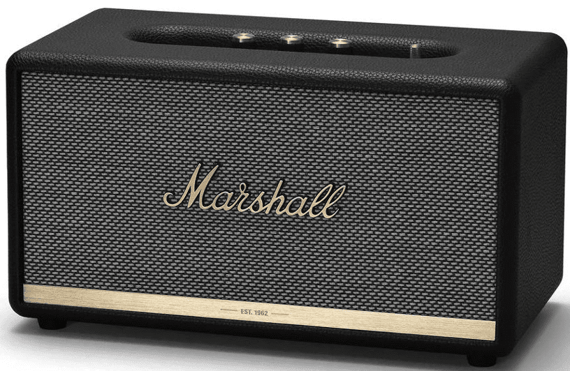 Портативная акустическая система Marshall Stanmore BT II Bluetooth Black колонки marshall kilburn beige