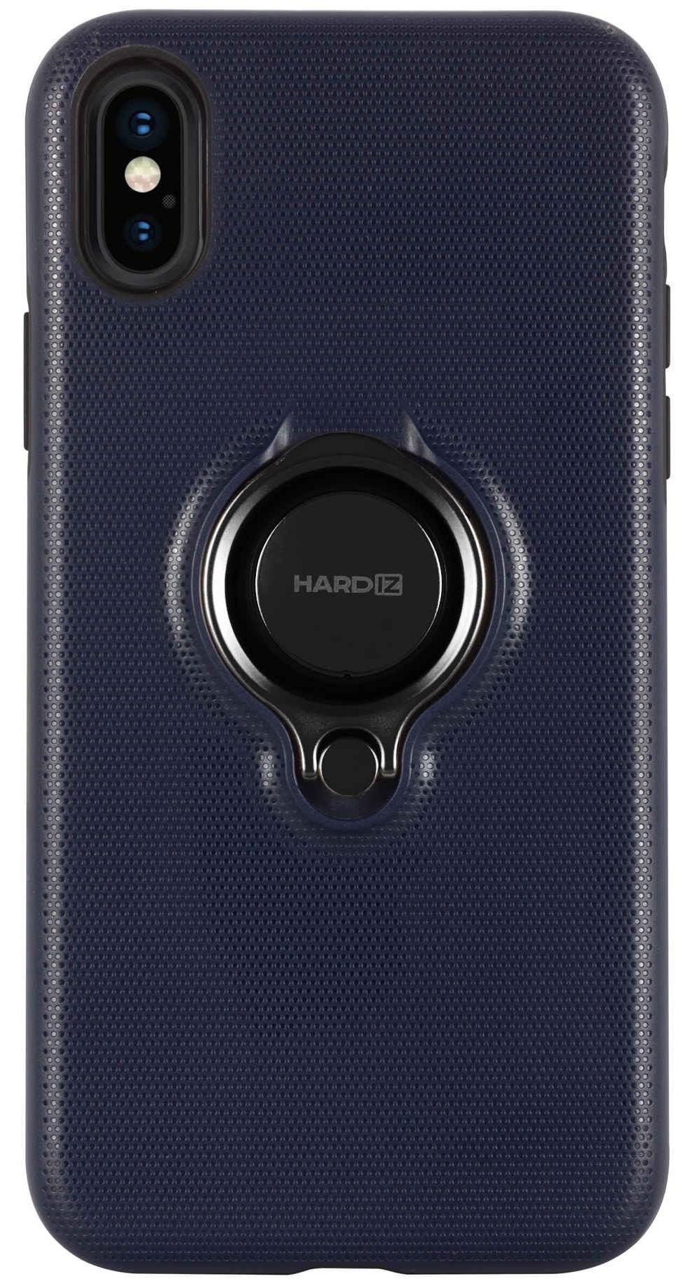 Фото - Клип-кейс Hardiz для Apple iPhone XS Urban с кольцом Blue видео