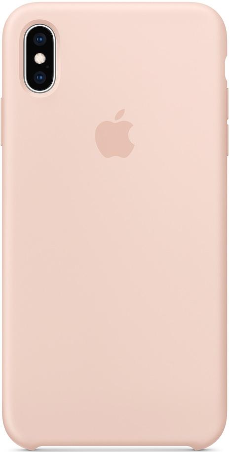 Клип-кейс Apple iPhone XS Max силиконовый MTFD2ZM/A Pink фото