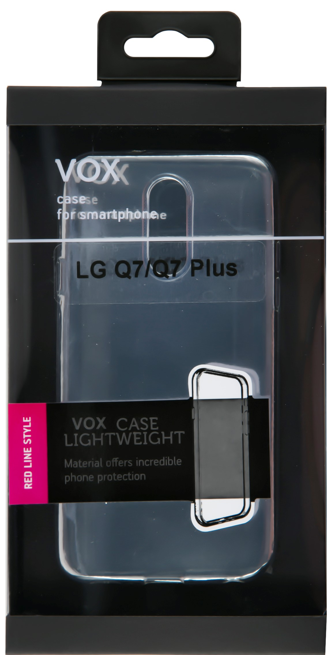 Клип-кейс Vox для LG Q7/Q7 Plus прозрачный ovw2 10 2md nemicon encoder 1000p r new inbox