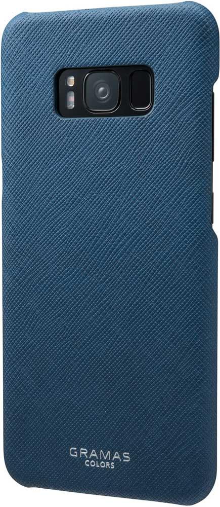 Клип-кейс Gramas Samsung Galaxy S8 сафьяно Blue клип кейс gramas samsung galaxy s8 сафьяно burgundy