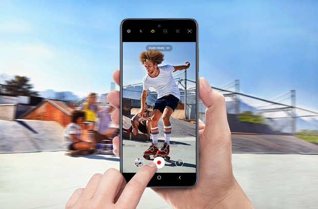 Смартфон Samsung A515 Galaxy A51 4/64Gb черный