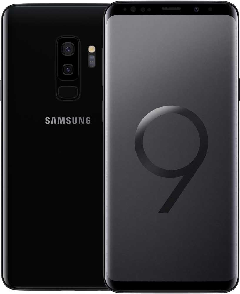 Смартфон Samsung G965 Galaxy S9 Plus 64Gb Черный бриллиант