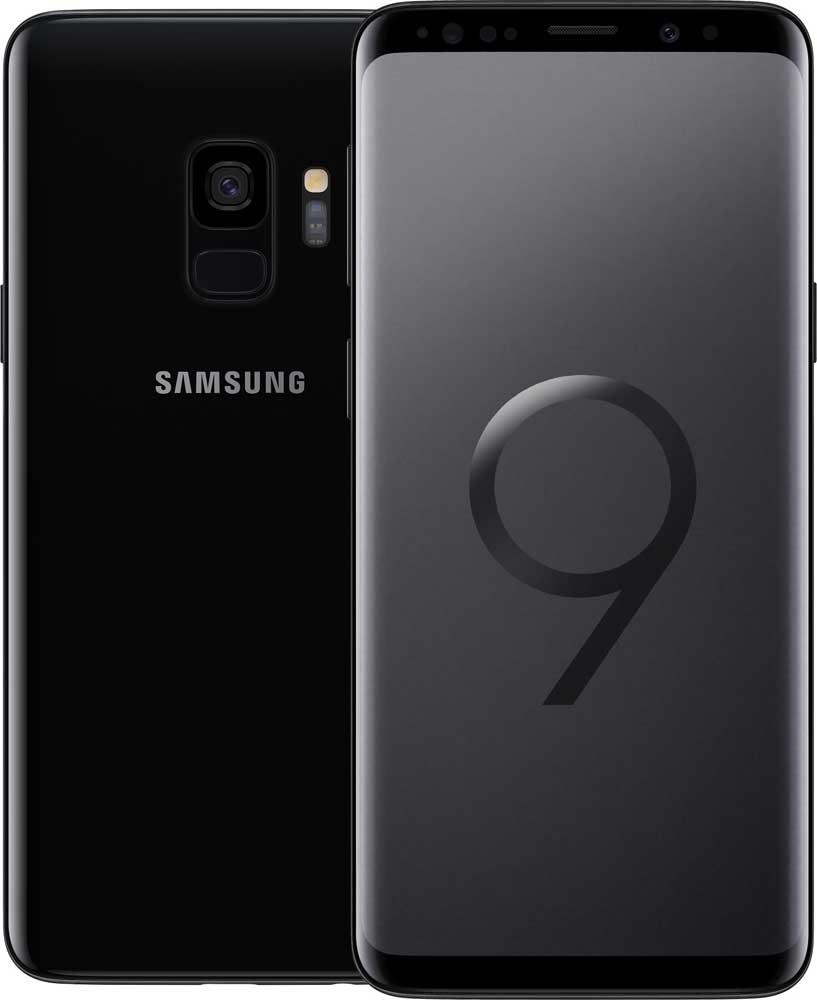 Смартфон Samsung G960 Galaxy S9 64Gb Черный бриллиант