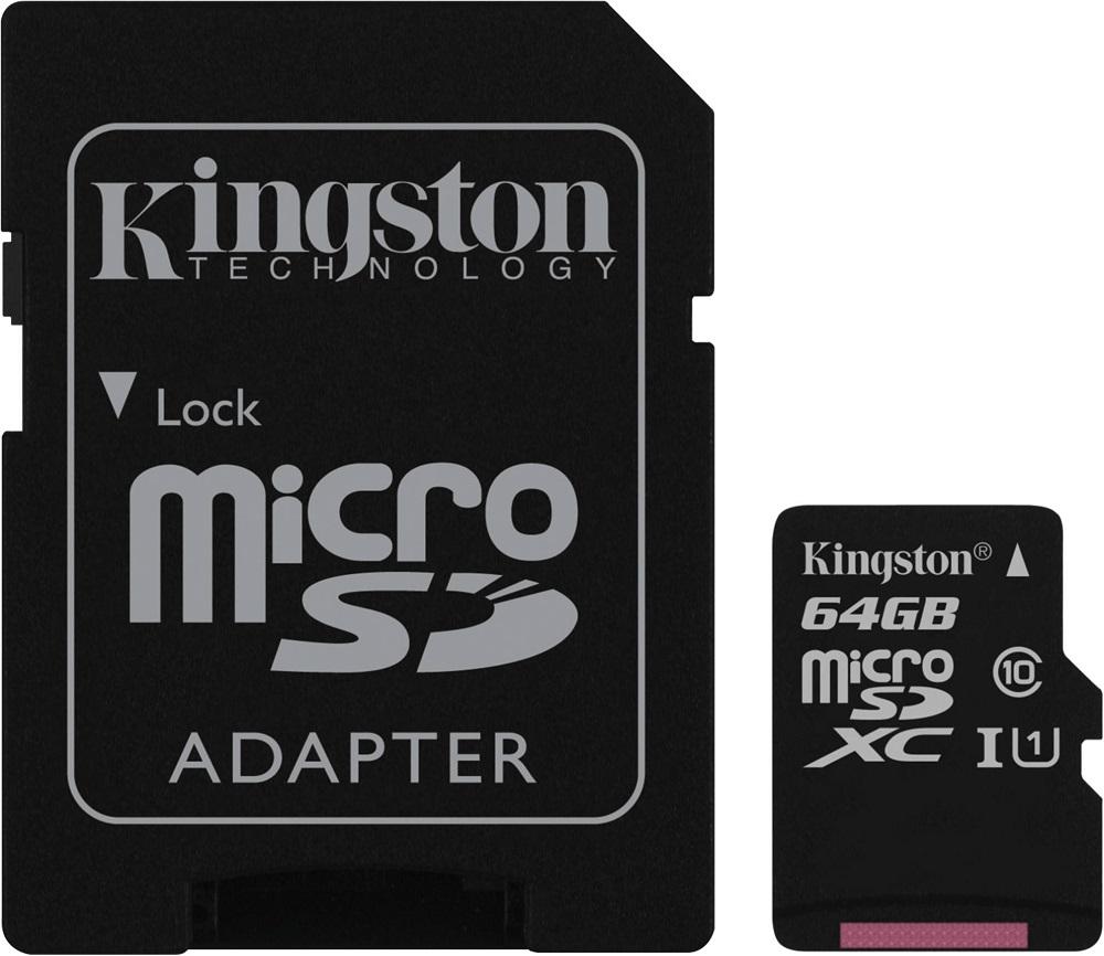 Карта памяти MicroSDHC Kingston от МТС