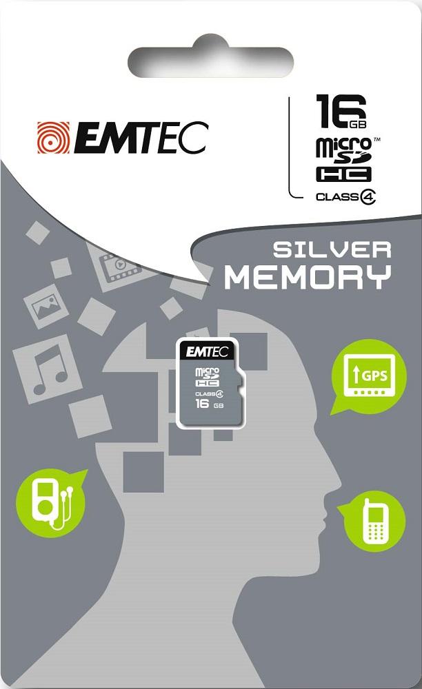 Карта памяти MicroSDHC Emtec